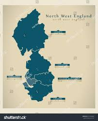 England On Map North West Map Of England You Can See A Map Of Many Places On