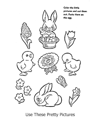 unique easter coloring activities preschoo 63 unknown