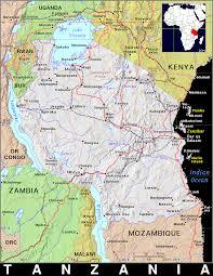 Tanzania Map Tz Tanzania Public Domain Maps By Pat The Free Open Source