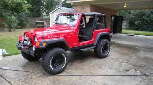 jeep wrangler red flame red rubicon 19 000 miles 24k jeep wrangler tj forum