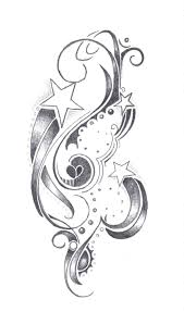 star and swirl tattoo designs deviantart more like star tattoo for