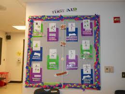 aid bulletin board for school nurses school nursing