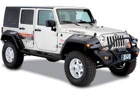 jeeps matte black bushwacker 11 75