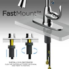 how to install glacier bay kitchen faucet glacier bay market single handle pull out sprayer kitchen faucet
