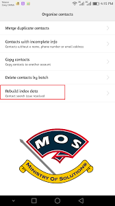 contacts not showing on huawei phones solved ministry solutions