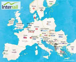 Italy Train Map Interrail Pass Holders All Interrail Passes Voyages Sncf Com