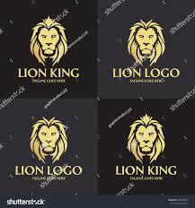 lion king template lion logo design template lion king stock vector 493684657