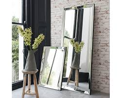 contemporary leaner mirror complete any room with this