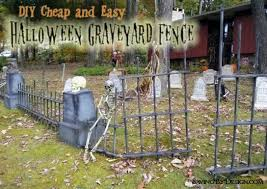 Fence Decorations Halloween Fence Decorations Cheap Halloween Props How To Make