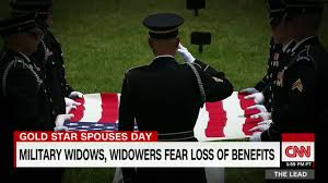 Gold Star Flag Gold Star Widows At Risk Of Losing Benefits Video Business News