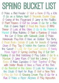 50 things to do this free printable lists