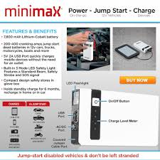 minimax power pack portable charger asseenontv com store
