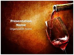 wine powerpoint template background subscriptiontemplates com