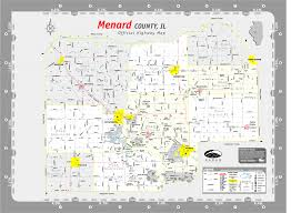 Il Map Maps Of Petersburg Il And Menard County Illinois