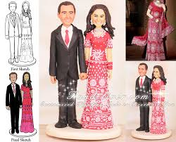 slim pakistani wedding cake toppers