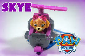 paw patrol skye toy review cool