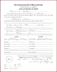 22 official birth certificate template sendletters info