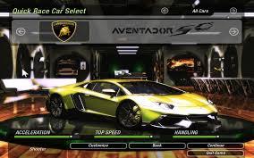 Lamborghini Aventador Acceleration - need for speed underground 2 lamborghini aventador lp720 4 50 u0027th