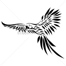 free parrot tattoo vector image 1442832 stockunlimited