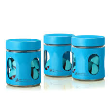 teal kitchen canisters kitchen winsome kitchen canisters blue set of 3 and white