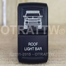 jeep wj roof lights otrattw switch w rocker contura xiv lower independent