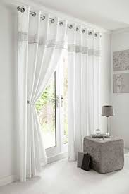 White Faux Silk Curtains White Faux Silk Curtains With Diamante Panel Lined Curtains With