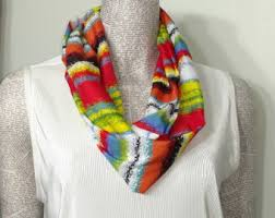 primary color scarf etsy