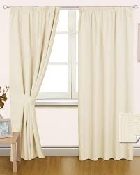 Cream Nursery Curtains by Decor Elegant Interior Home Decorating Ideas With Cool Blackout