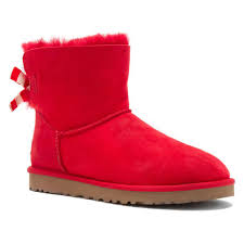 womens ugg boots dillards ugg australia s mini bailey bow stripe boots in