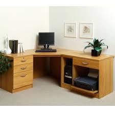 home office corner desk u2013 solid wood desk construction black