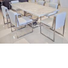 crate and barrel marble dining table uscio iv marble dining table white volakas incredible for 14
