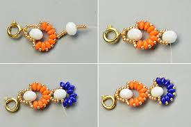 diy beaded flower bracelet images Diy bracelet fashion beads and accessories jpg