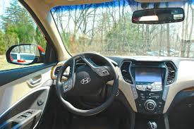 2013 hyundai santa fe limited review review 2013 hyundai santa fe limited front driver seat