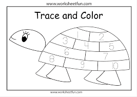 trace numbers worksheet worksheets