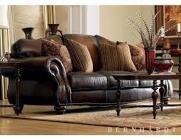 leather sofa with nailheads my new gorgeous leather sofa at haverty u0027s http www havertys com