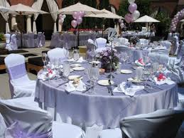 rent linens for wedding purple table settings for weddings chiavari chairs chair covers