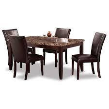 ferrara 5 piece dining set 2221 5pc crown mark afw