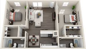 floor plans fox run apartments plan d two bedroom two bathroom