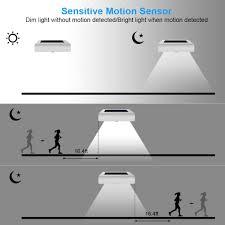 Garden Led Solar Lights by Innogear Upgraded 24 Led Solar Lights Motion Sensor Wall Light