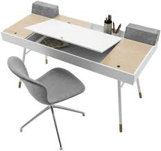 Schreibtisch Modern Mdf Schreibtisch Modern Integrierter Stauraum Cuperlino