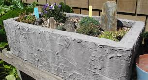Garden Wall Troughs by Trough Plants Rain Garden Arts