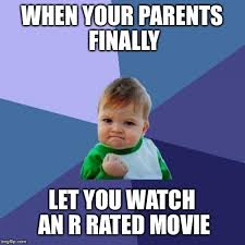 R Rated Memes - success kid meme imgflip