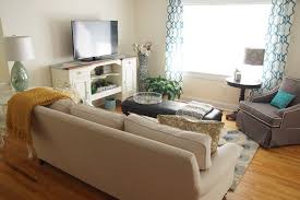 decor u0026 tips great sofa and ottoman coffee table with tv stand