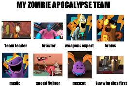 Zombie Team Meme - randm zombie apocalypse team meme by worldofcaitlyn on deviantart