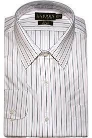 lauren ralph lauren slim fit bennett striped non iron dress shirt