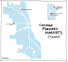 Chicago Brewery Map by Chicago Farmers Markets For Nearly Every Day Of The Week