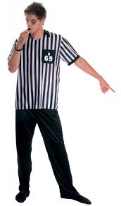 men u0027s referee costume by stamco 810006 karnival costumes