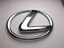 lexus symbol lexus es gs rx ls front chrome grill emblem logo 90975 02082 75311