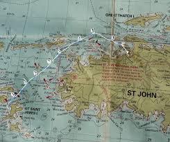 St Thomas Virgin Islands Map Frogma Usvi 2015 Day 2 Christmas Cove St Thomas To Maho