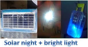 bright light solar solar bright light and charging 6 steps